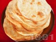 Лаваш (плоски арменски питки с просо)